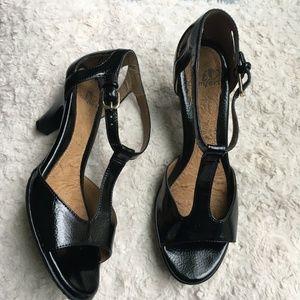 766ba228bd80 I Love Comfort Black Heels Ankle strap 6.5